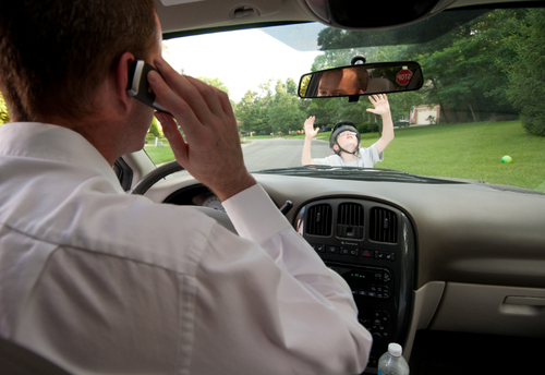 Luxury Distracted Driving  Neighbors Plus Insurance Services In